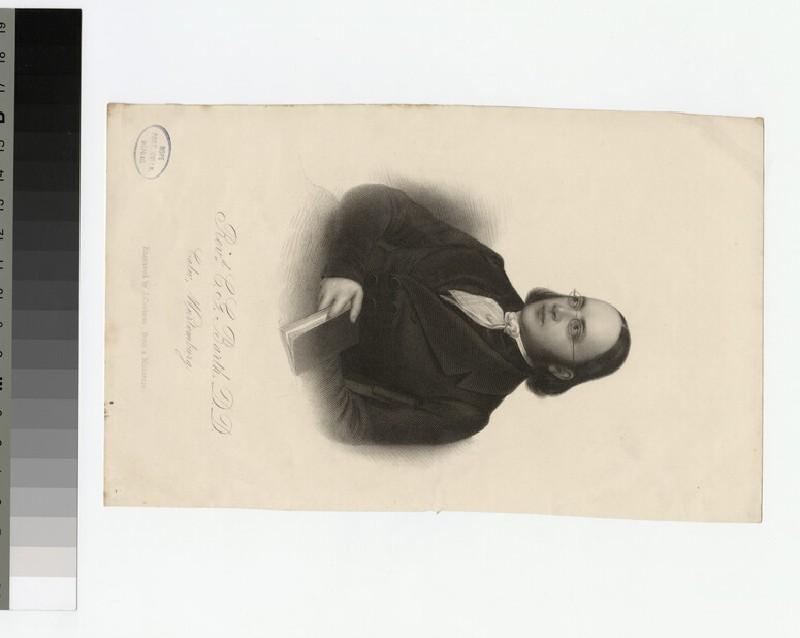 Portrait of C. G. Barth