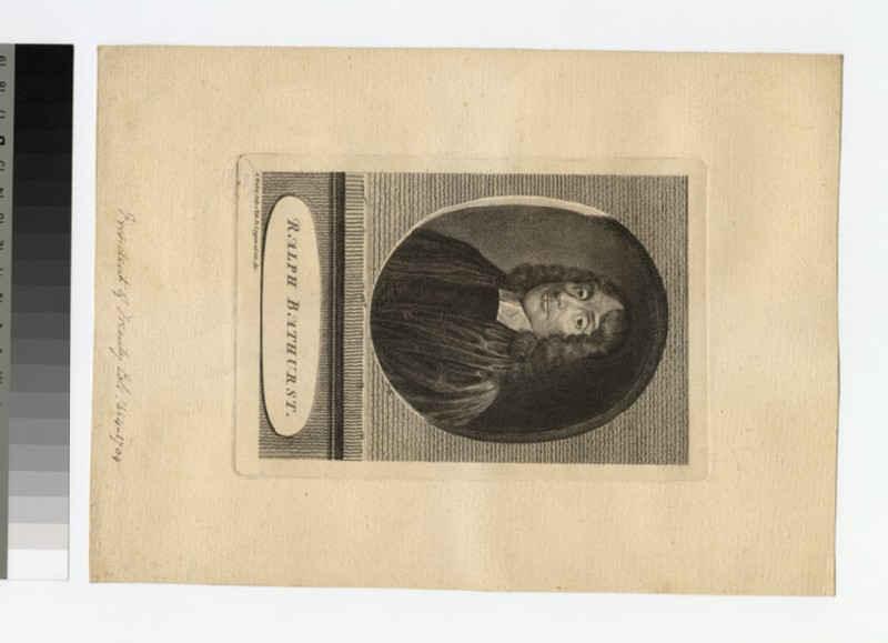 Portrait of R. Bathurst