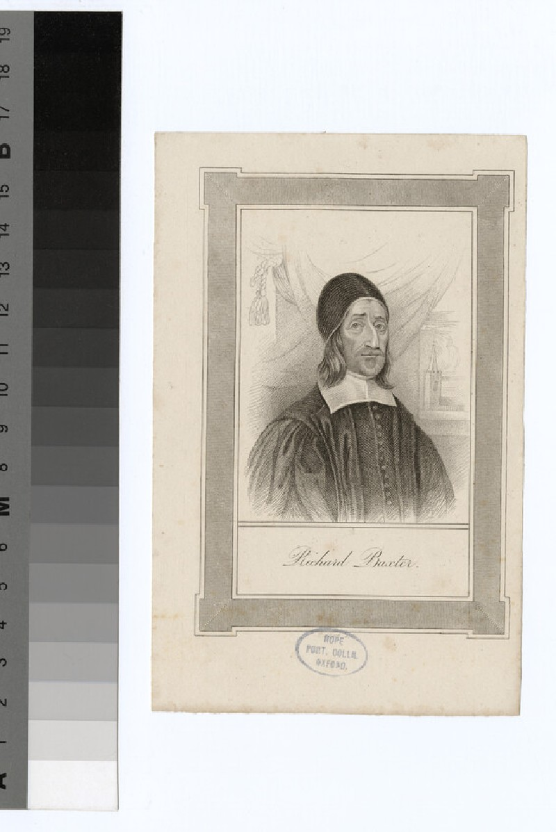 Portrait of R. Baxter (WAHP21293)