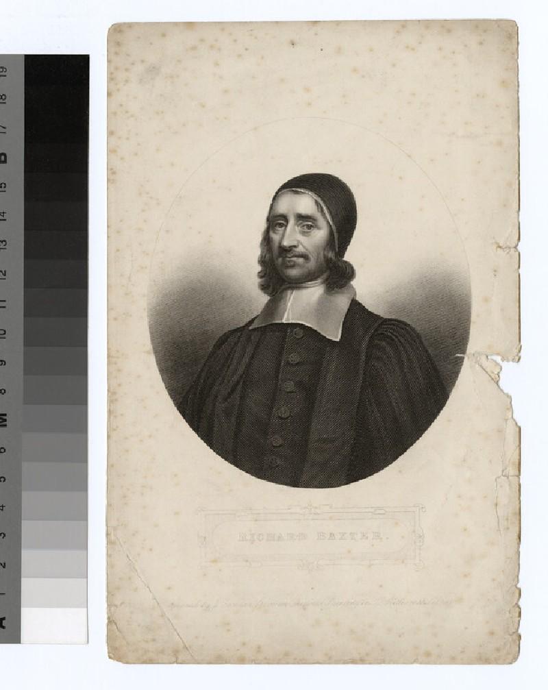 Portrait of R. Baxter (WAHP21331)