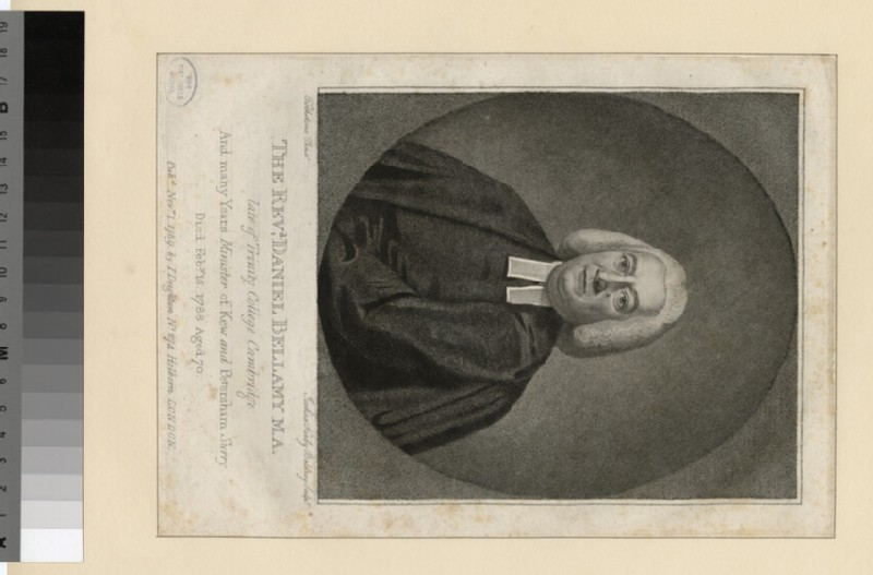 Portrait of Revd Daniel Bellamy