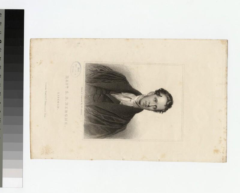 Portrait of S. B. Bergne (WAHP21366)