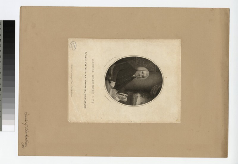 Portrait of S. Berdmore (WAHP21368)