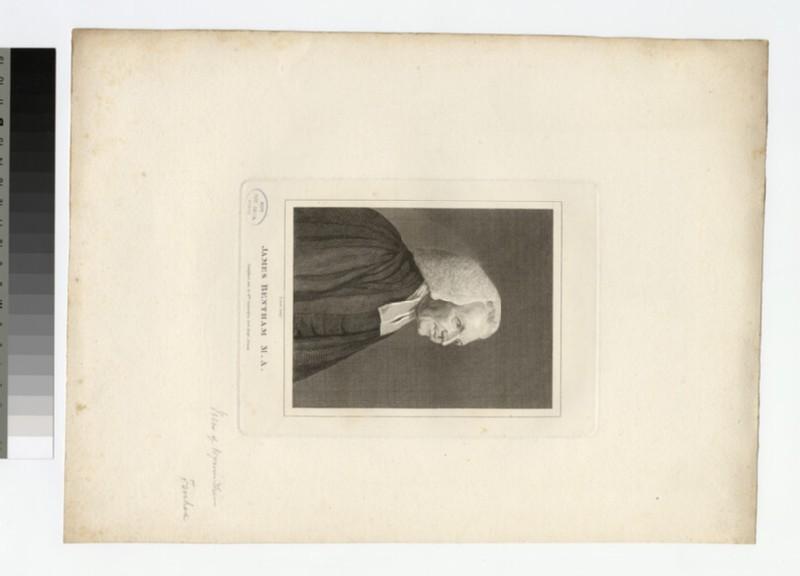 Portrait of Revd J. Bentham