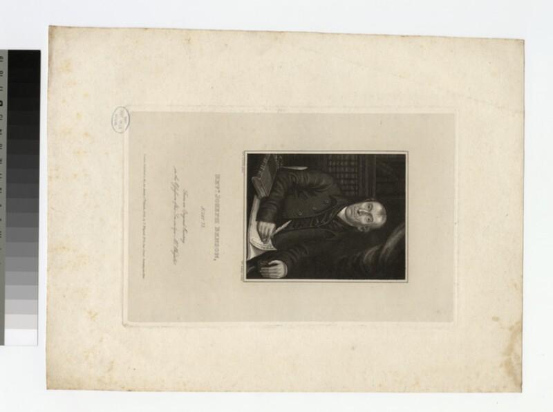 Portrait of J. Benson (WAHP21381)