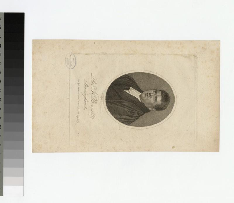 Portrait of M. Bennett