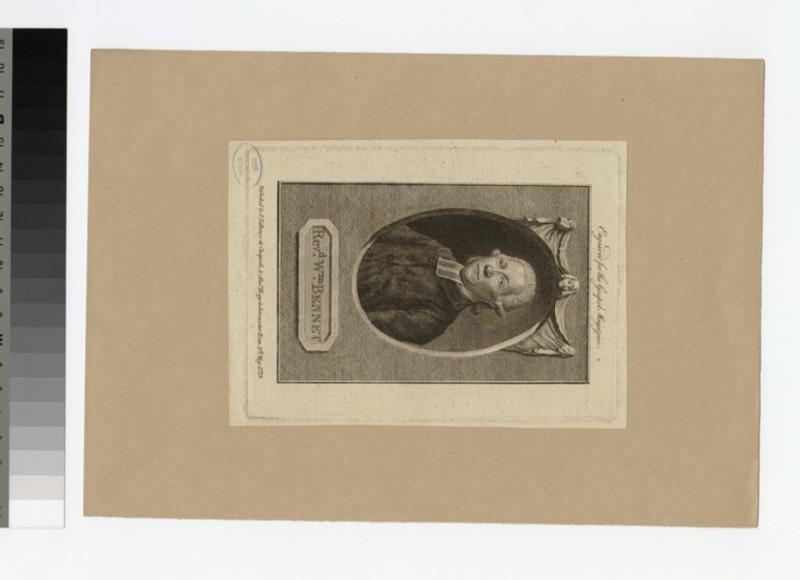 Portrait of W. Bennet