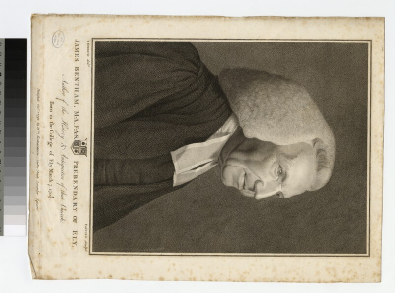 Portrait of Revd J. Bentham (WAHP21391)
