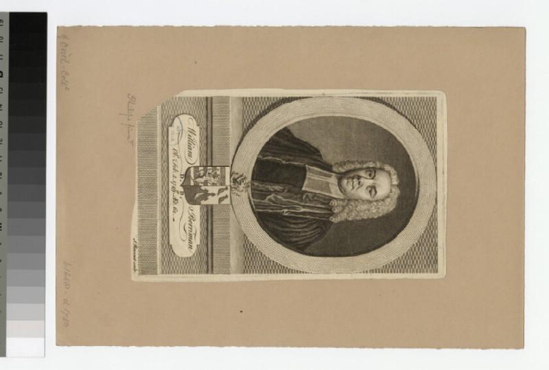 Portrait of Rev.W. Berriman
