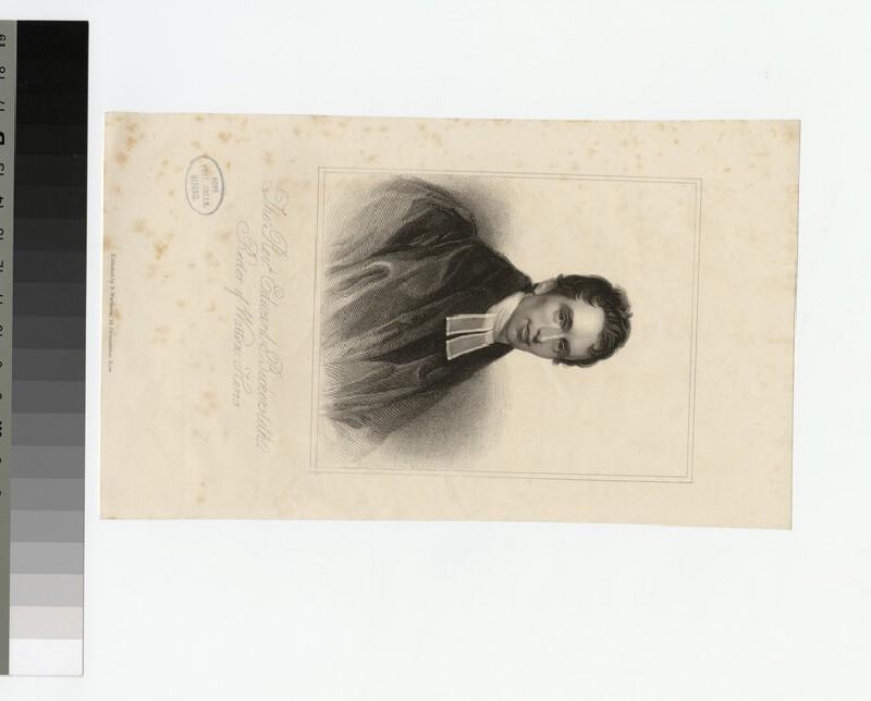 Portrait of E. Bickersteth (WAHP21414)