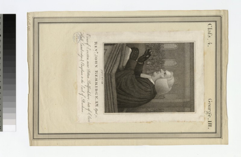 Portrait of J. Berridge