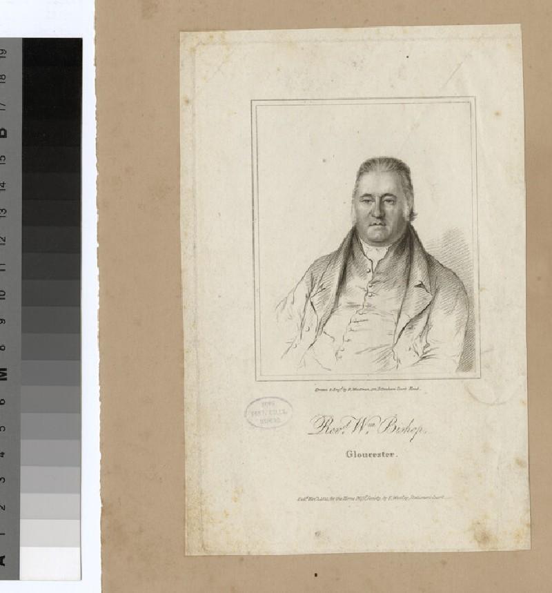 Portrait of W. Bishop