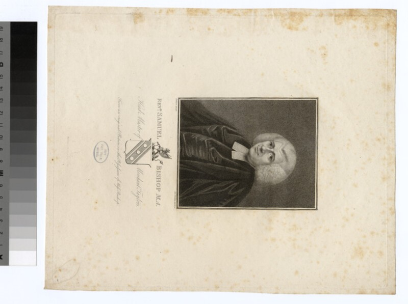Portrait of Revd S. Bishop