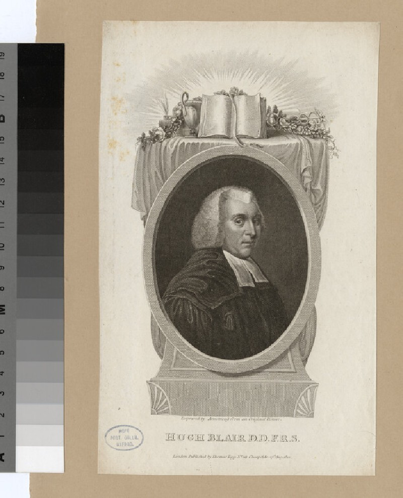 Portrait of Hugh Blair