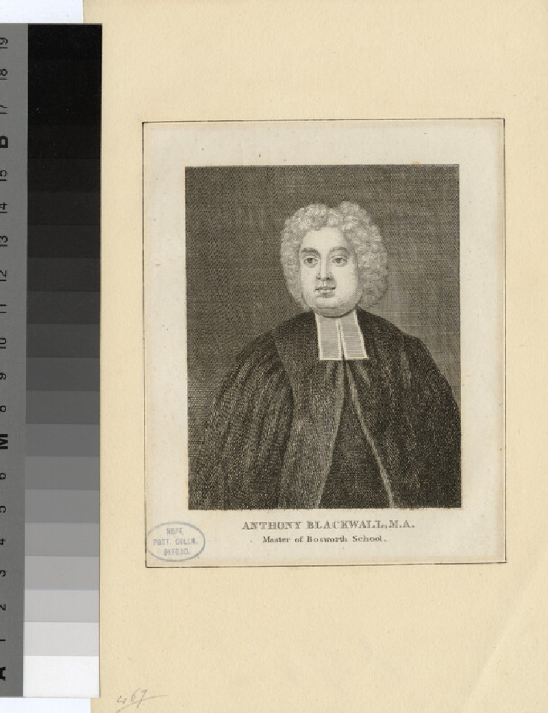 Portrait of A. Blackwall