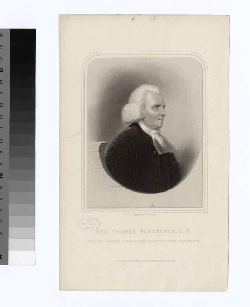 Portrait of Thomas Blacklock