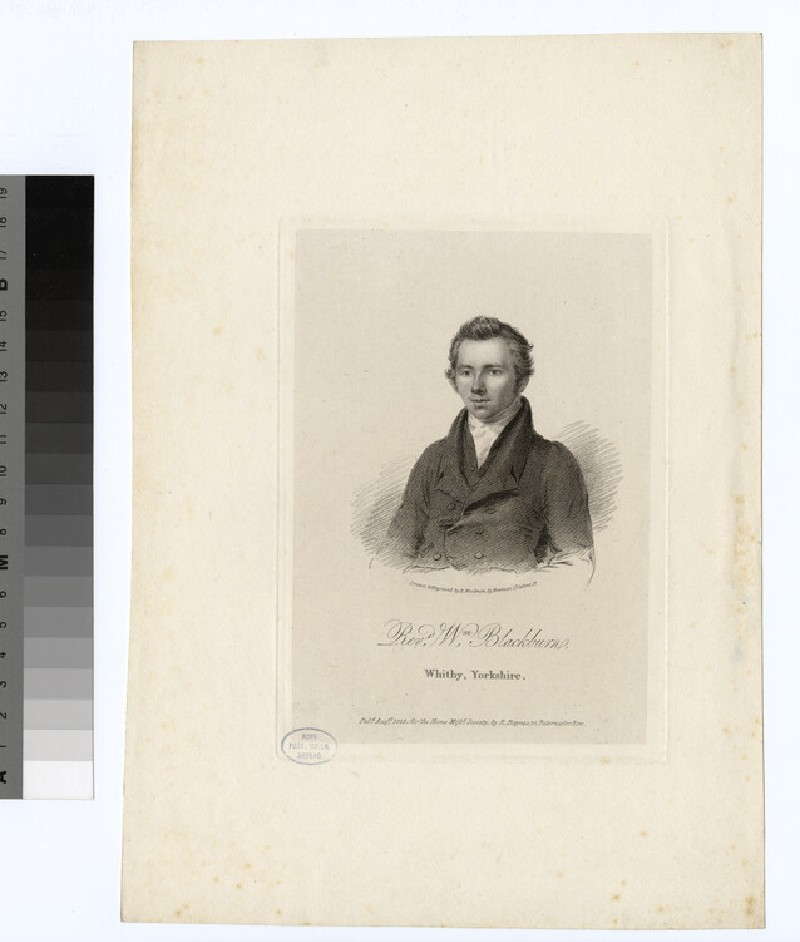 Portrait of W. Blackburn