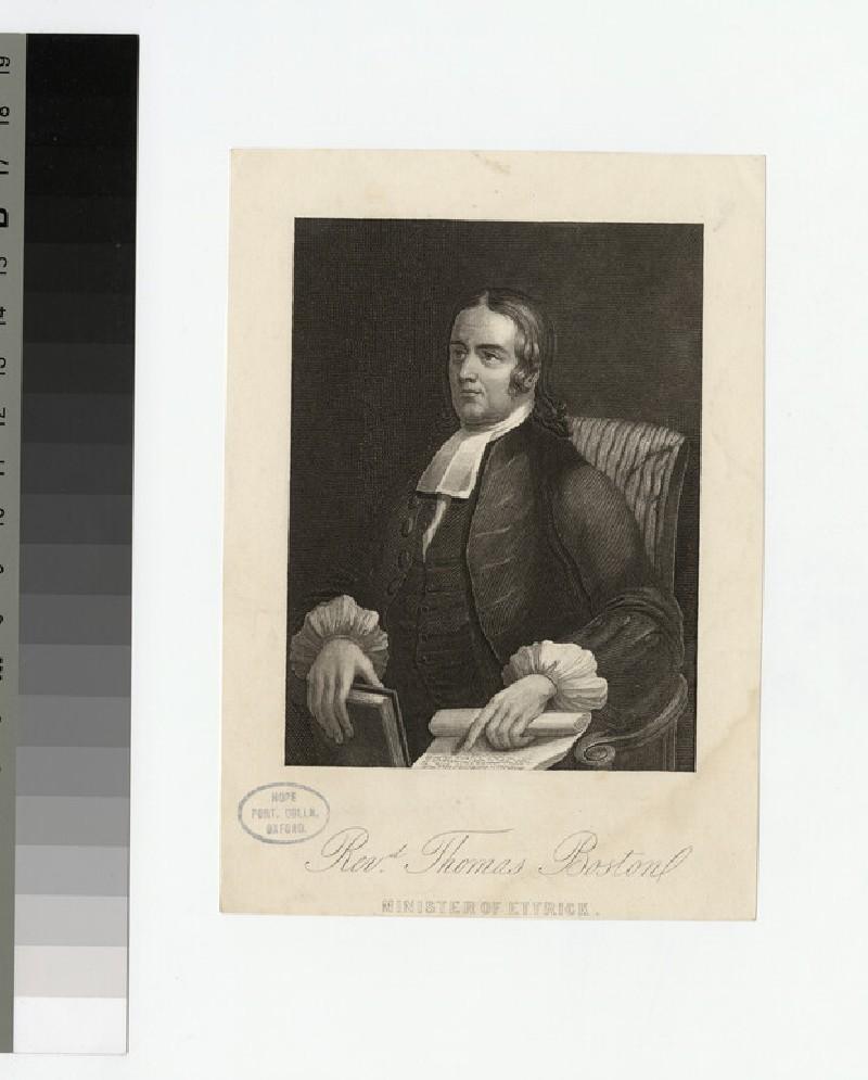 Portrait of T. Boston