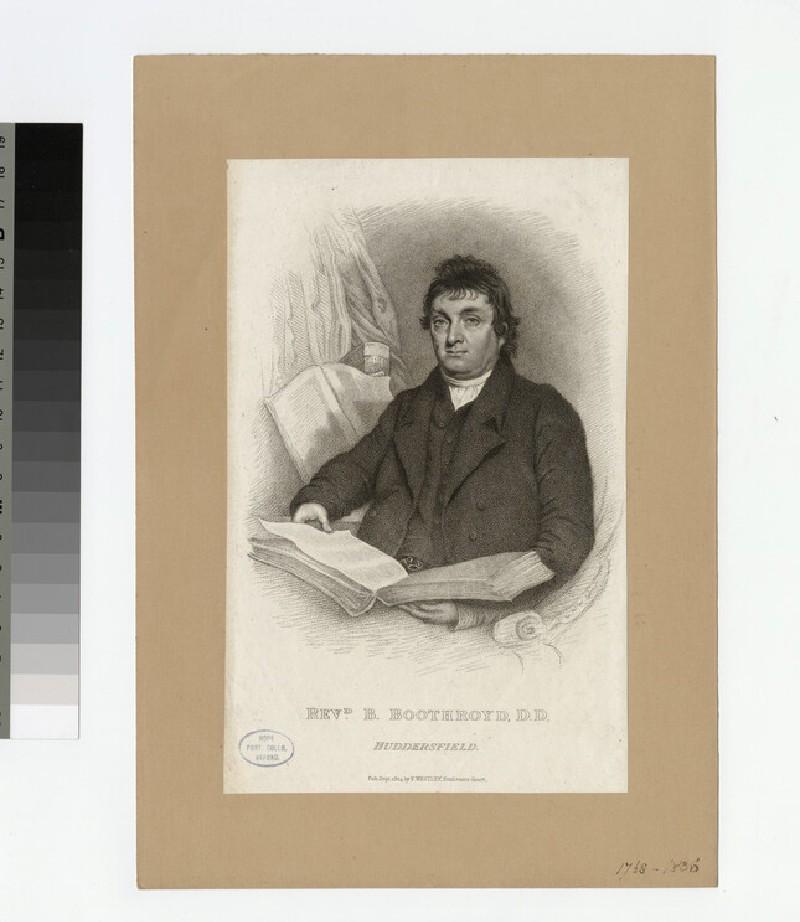 Portrait of B. Boothroyd
