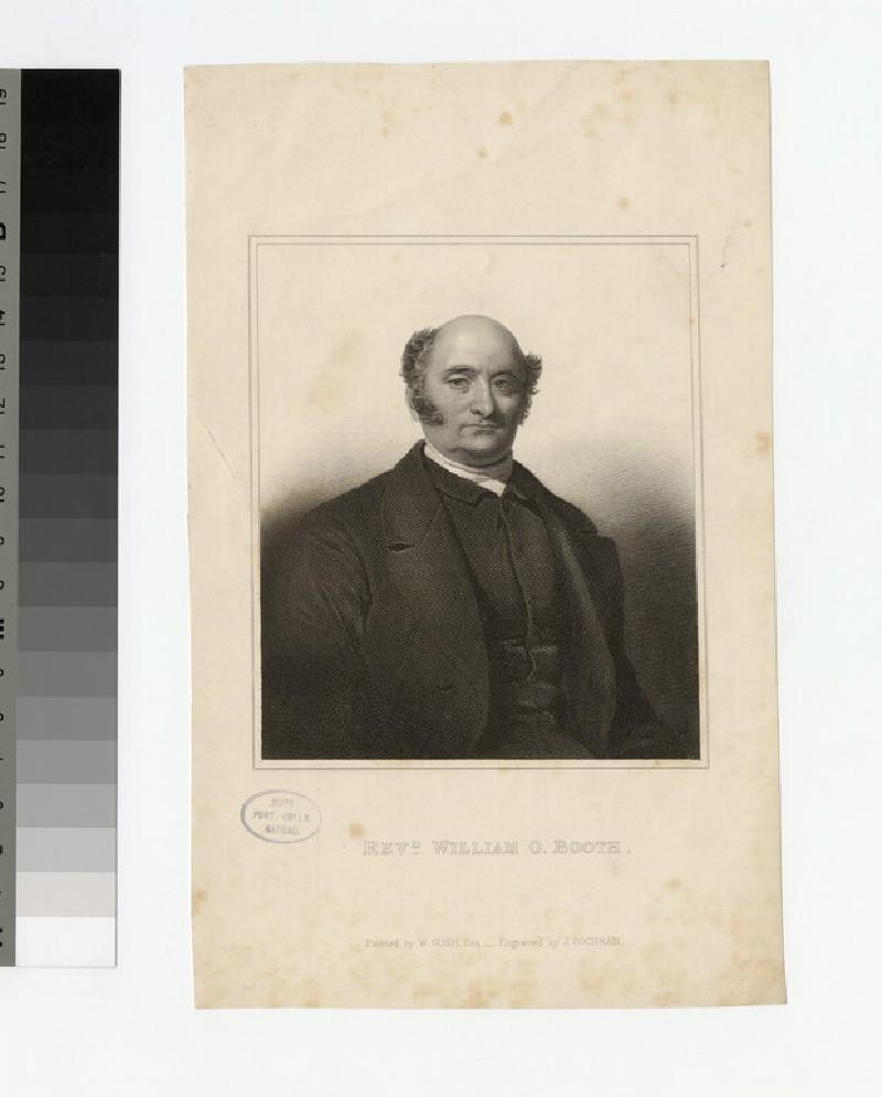 Portrait of W. O. Booth