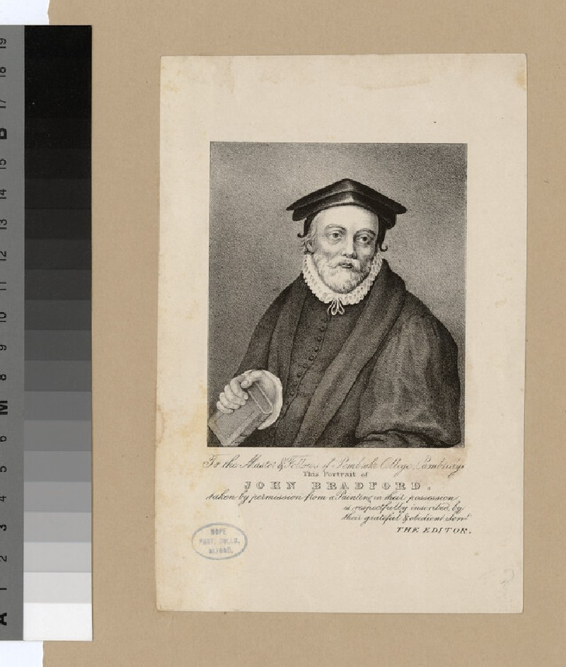 Portrait of J. Bradford