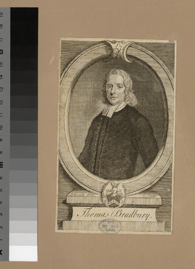 Portrait of T. Bradbury