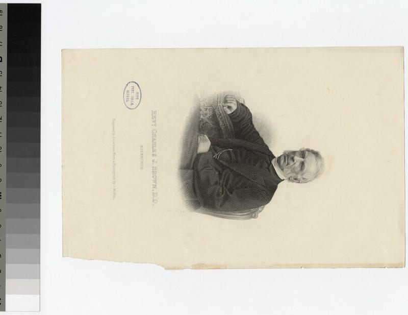Portrait of C. J. Brown