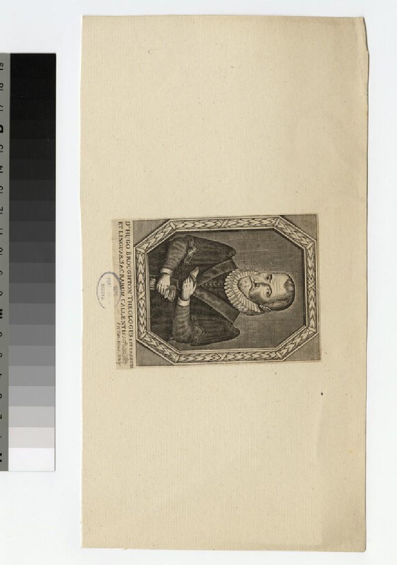 Portrait of H. Broughton