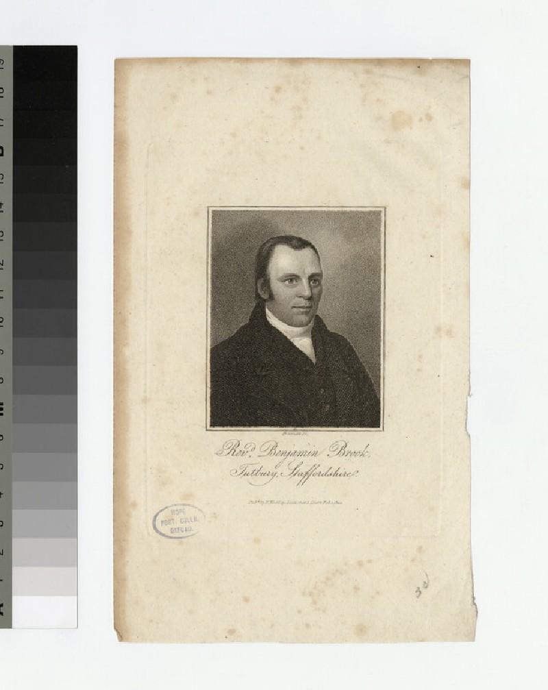 Portrait of B. Brook