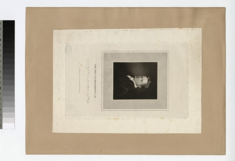 Portrait of T. B. Broadbent (WAHP21652.1)