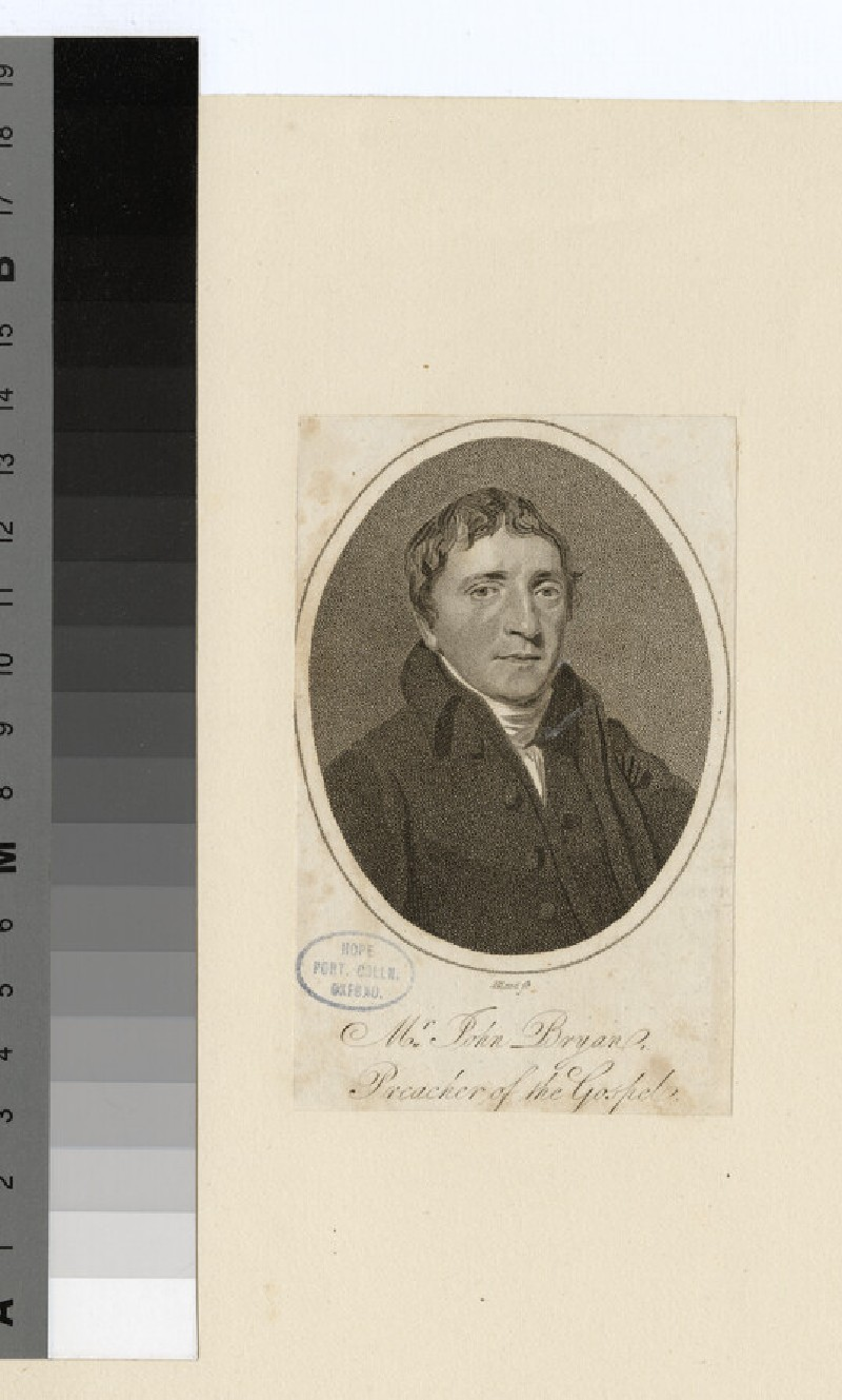 Portrait of J. Bryan