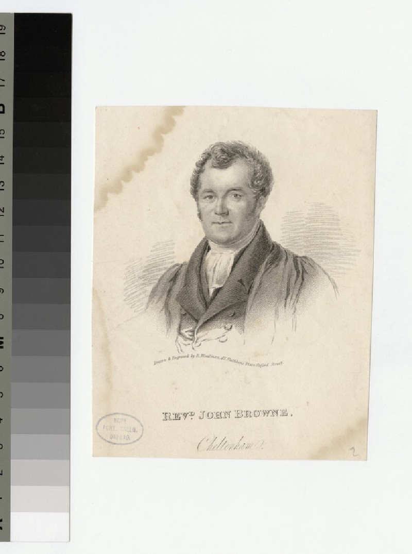 Portrait of J. Browne (WAHP21674)