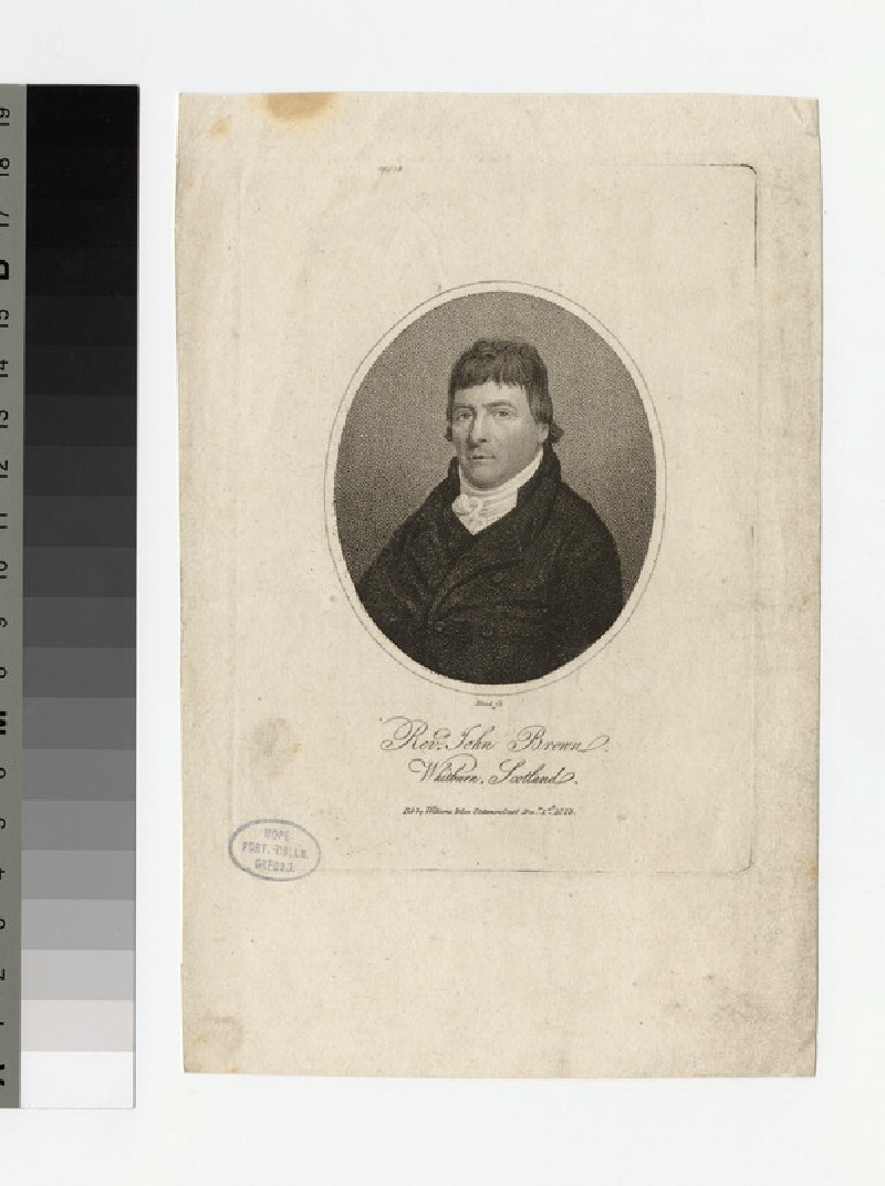 Portrait of J. Brown (WAHP21678)