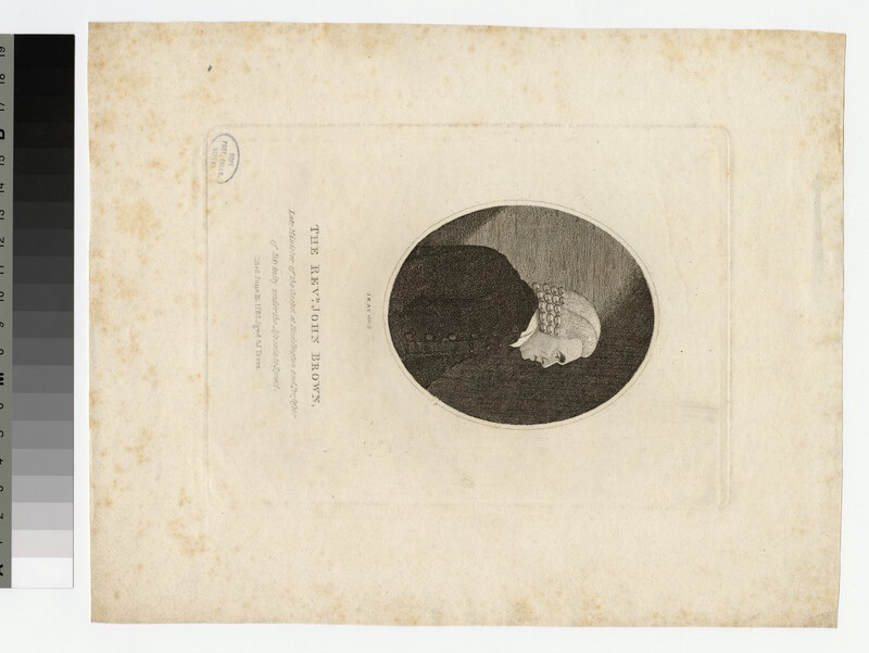 Portrait of J. Brown (WAHP21687)