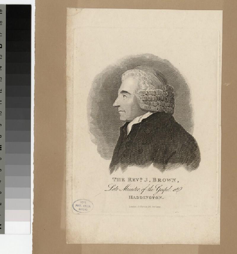 Portrait of J. Brown (WAHP21694)