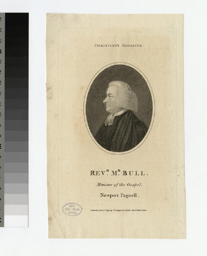 Portrait of Mr Bull (WAHP21705)