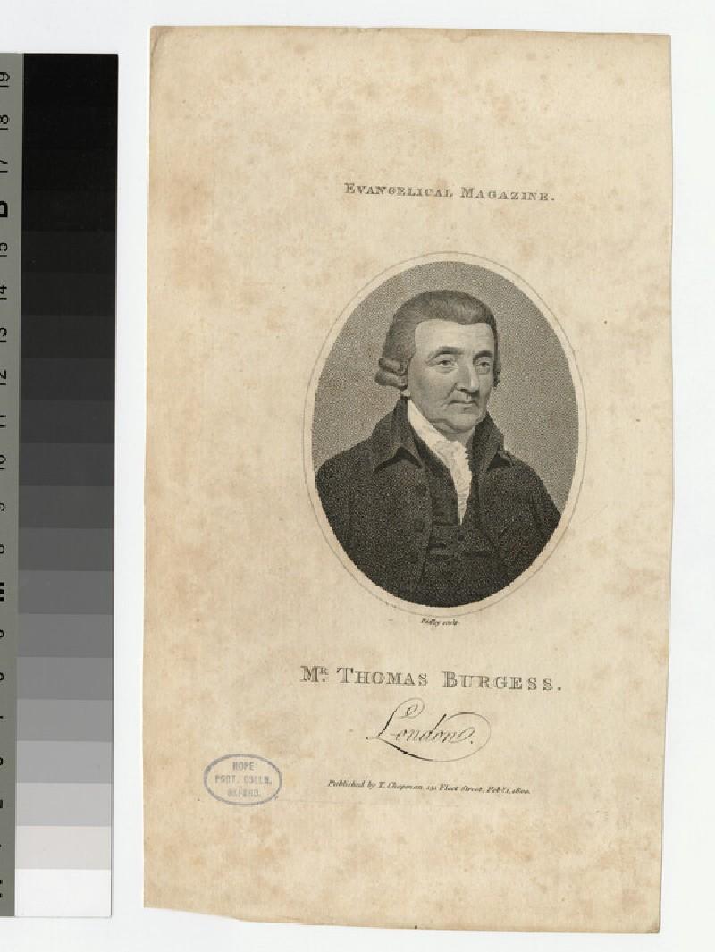 Portrait of T. Burgess