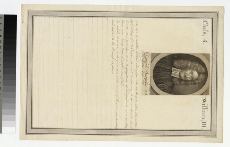 Portrait of D. Burgess