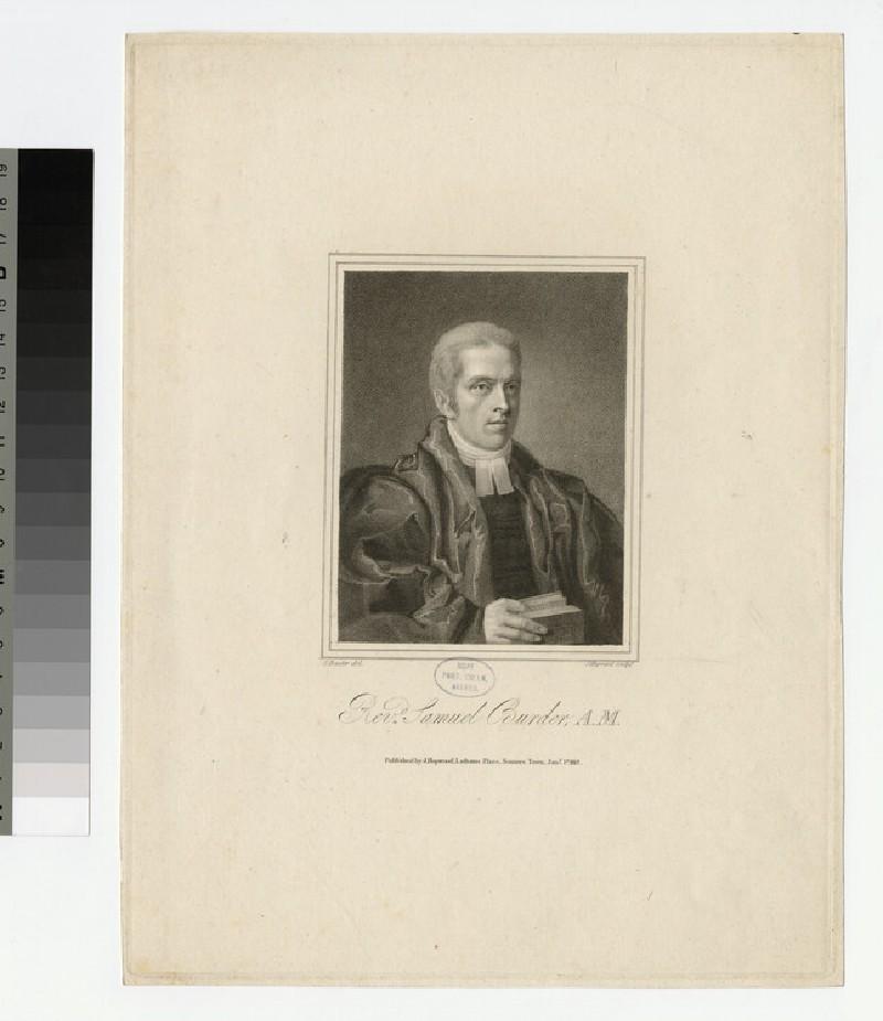 Portrait of S. Burder (WAHP21783)