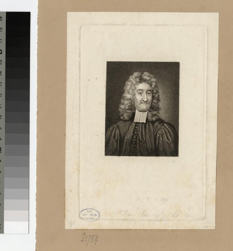 Portrait of D. Burgess (WAHP21784)