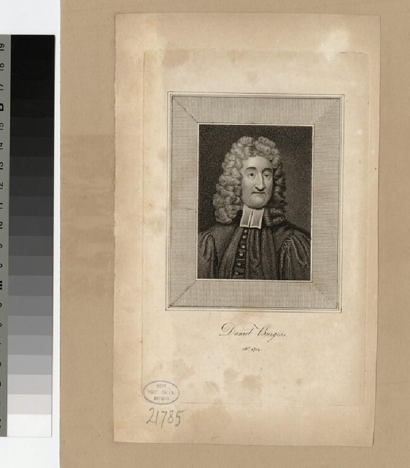 Portrait of D. Burgess (WAHP21785)