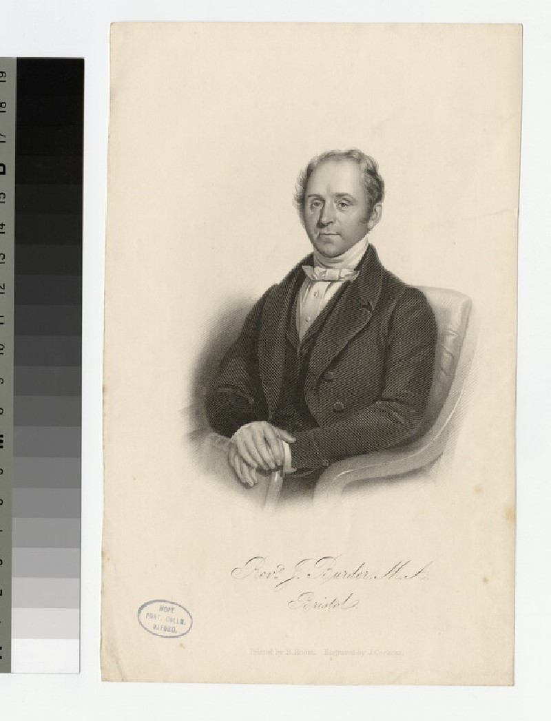 Portrait of J. Burder