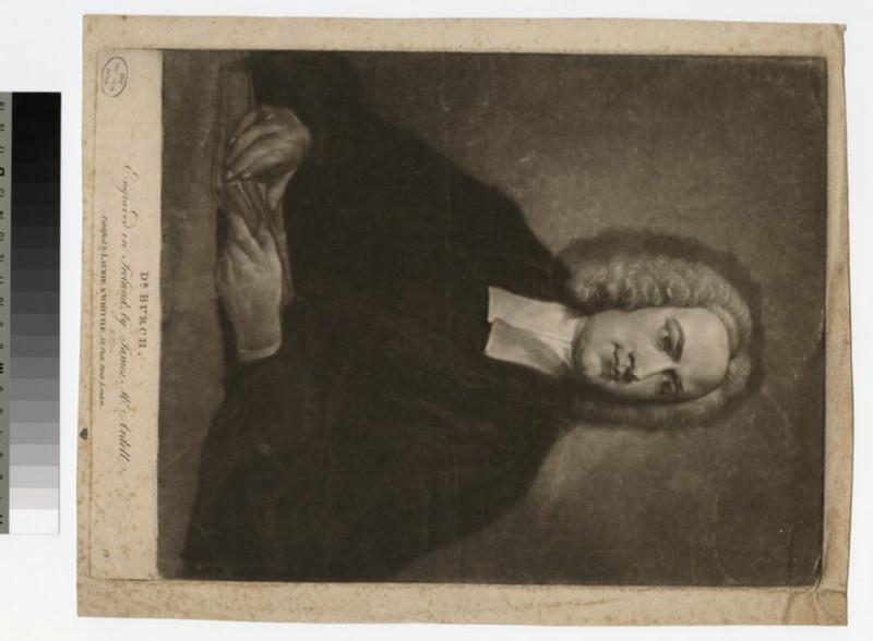 Portrait of Dr Burch