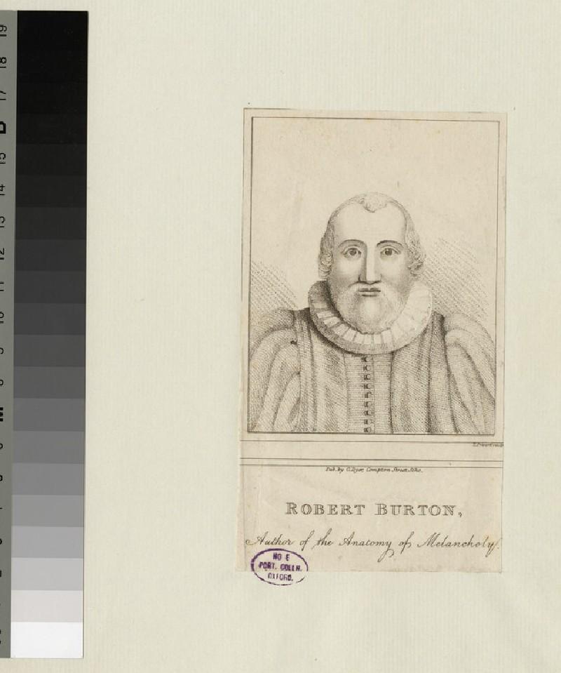 Portrait of R. Burton