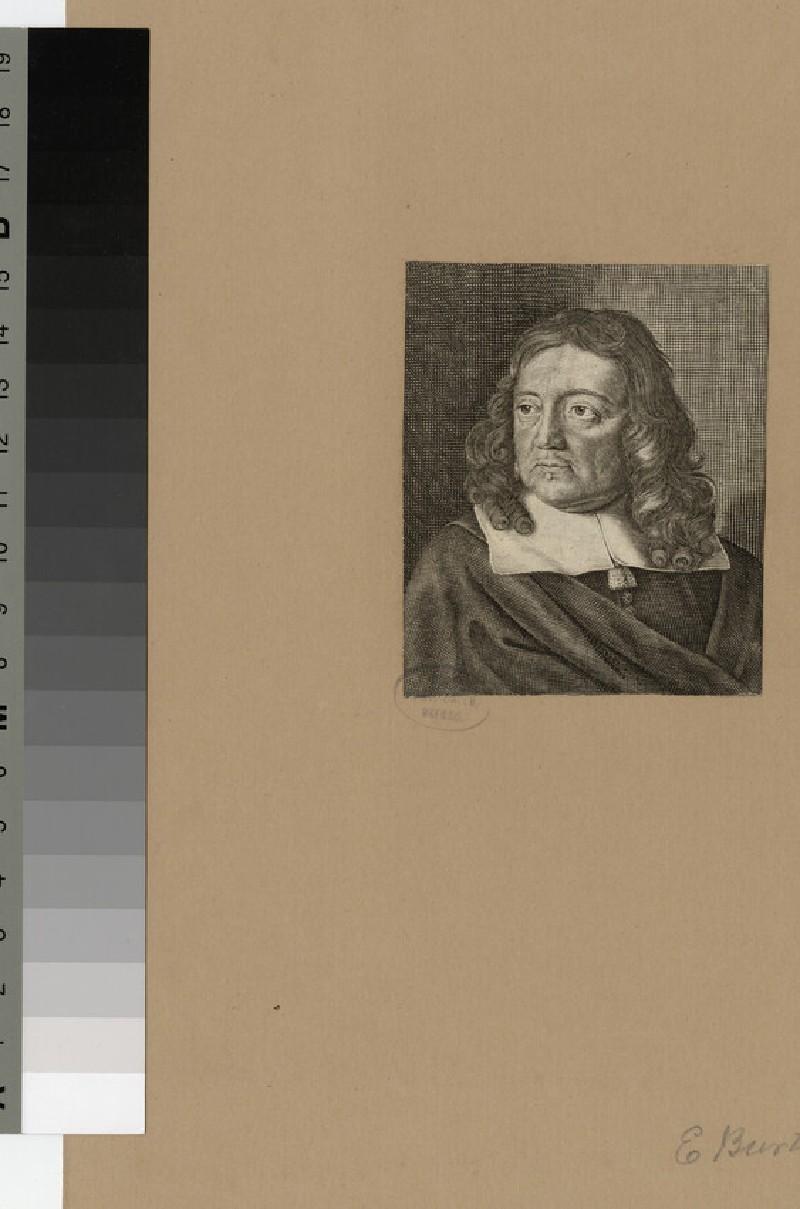 Portrait of Rev. Dr E. Burton