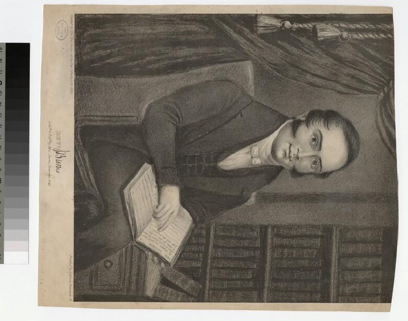 Portrait of J. Burns (WAHP21824)
