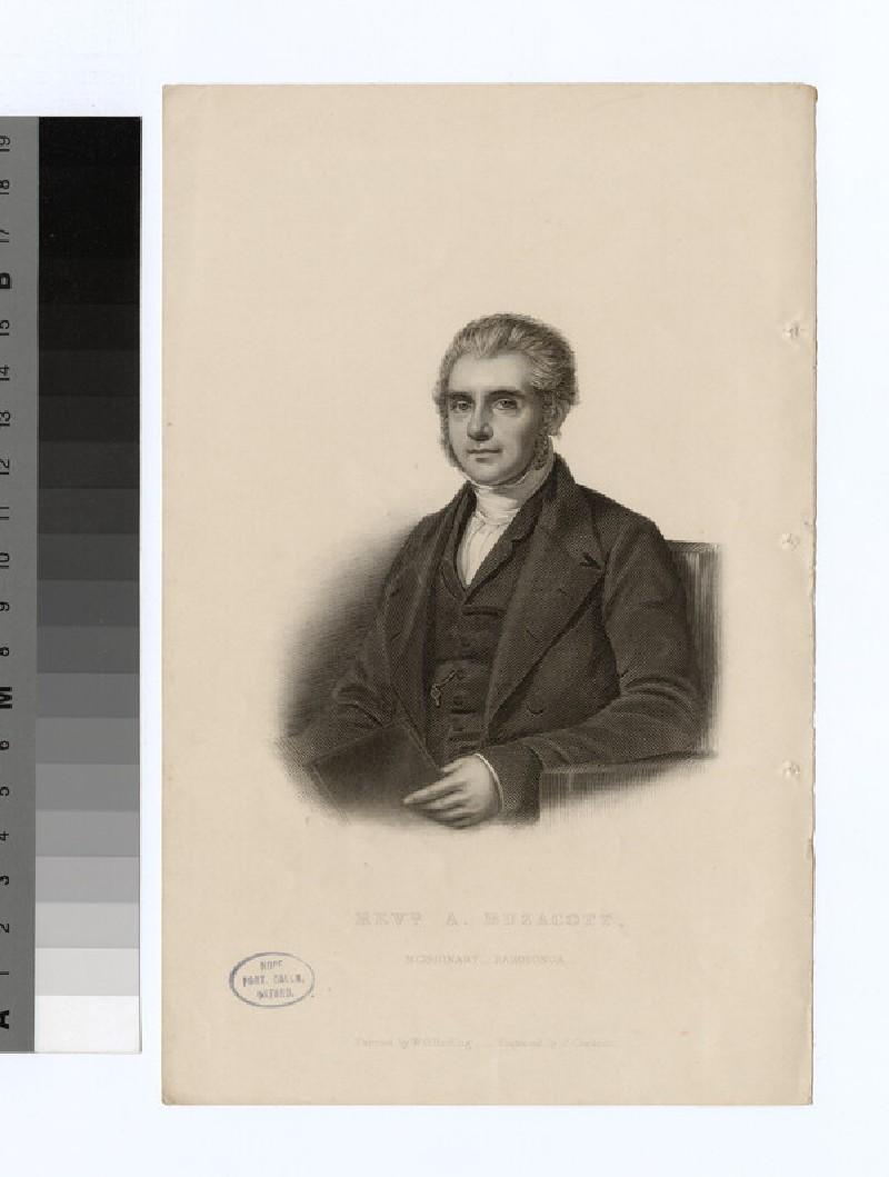 Portrait of A. Buzacott (WAHP21844)