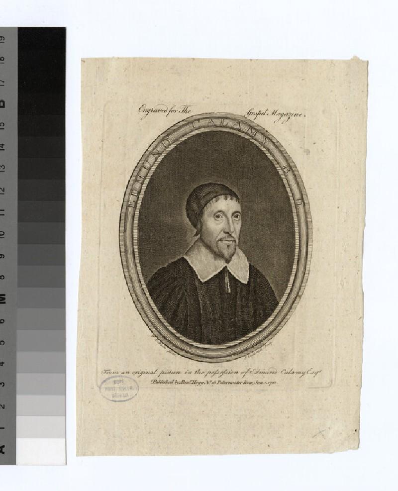Portrait of E. Calamy (WAHP21869)