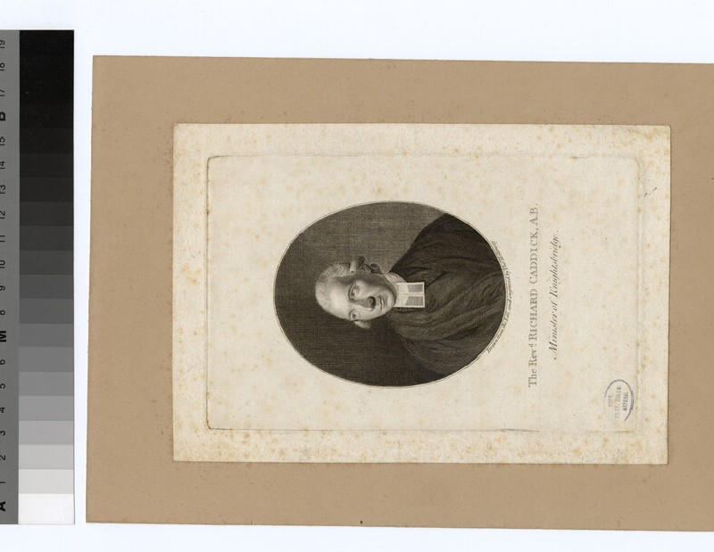 Portrait of Rev.R. Caddick