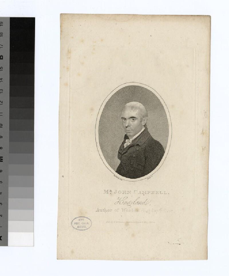 Portrait of J. Campbell